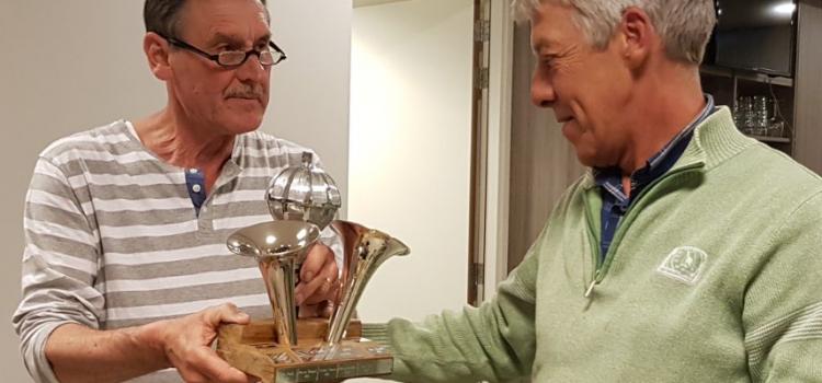 Martin winnaar Klaverjascompetitie