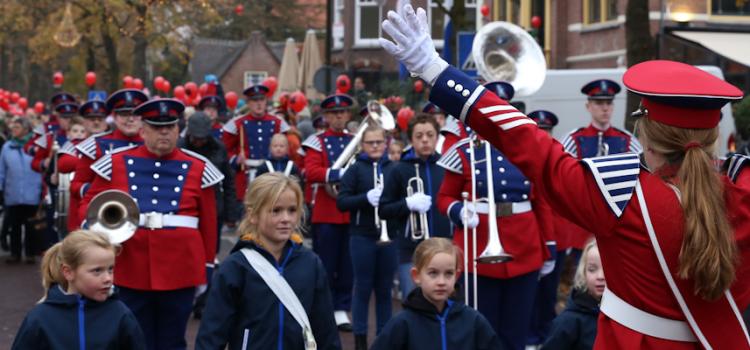 Sinterklaas is ook in Laren