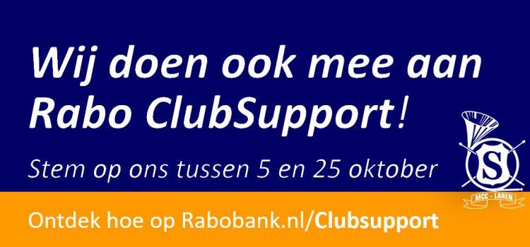 MCC doet mee aan Rabo ClubSupport